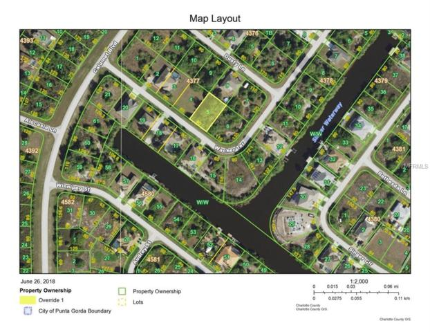 9493 Wacker Terrace, Port Charlotte, FL 33981 (MLS #D6101137) :: The Lockhart Team