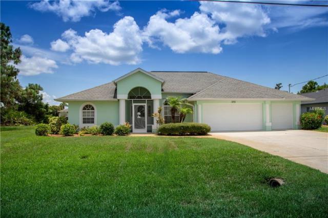 275 Long Meadow Lane, Rotonda West, FL 33947 (MLS #D6101150) :: Godwin Realty Group