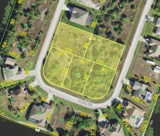 9587 Spring Circle, Port Charlotte, FL 33981 (MLS #D6101443) :: The BRC Group, LLC