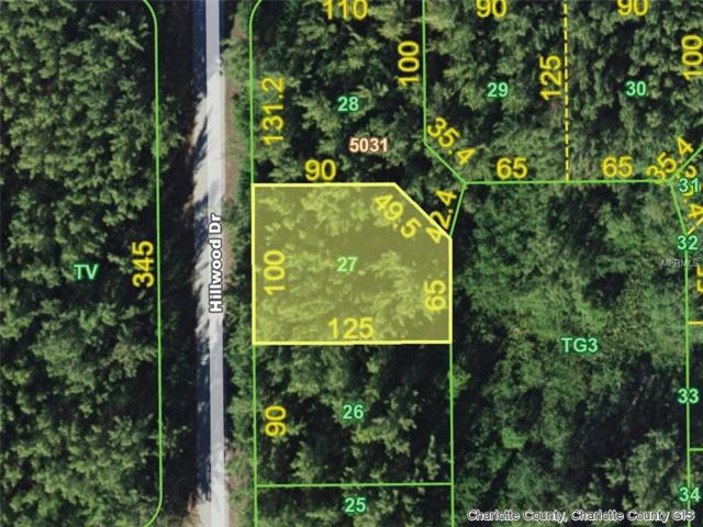 10510 Hillwood (Lot 27) Drive, Port Charlotte, FL 33981 (MLS #D6101503) :: Griffin Group