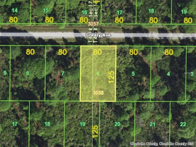 13531 Grealy (Lot  6) Avenue, Port Charlotte, FL 33953 (MLS #D6101540) :: Premium Properties Real Estate Services