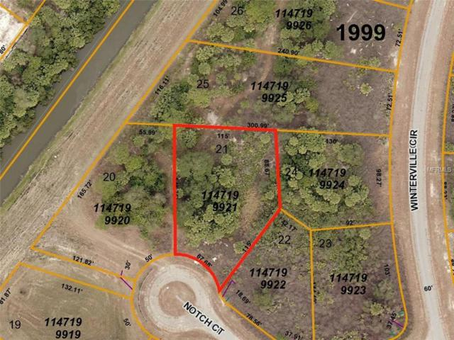 Notch (Lot 21) Court, North Port, FL 34288 (MLS #D6101655) :: Mark and Joni Coulter | Better Homes and Gardens