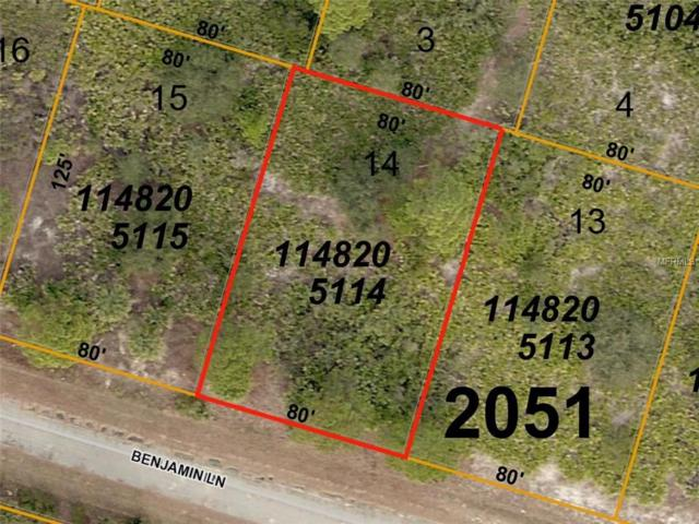 Benjamin (Lot 14) Lane, North Port, FL 34288 (MLS #D6101656) :: Mark and Joni Coulter | Better Homes and Gardens