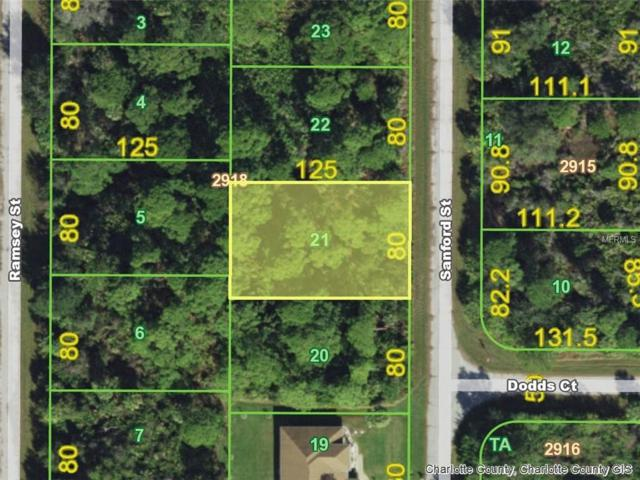 1275 Sanford (Lot 21) Street, Port Charlotte, FL 33953 (MLS #D6101678) :: Griffin Group