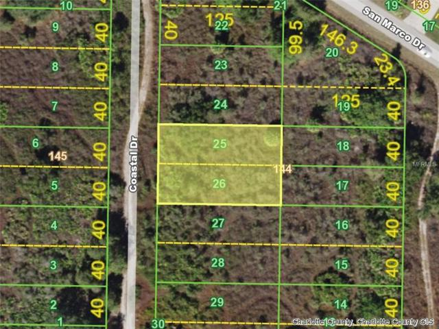 1460 Coastal (Lots 25,26) Drive, Punta Gorda, FL 33983 (MLS #D6101682) :: Mark and Joni Coulter | Better Homes and Gardens