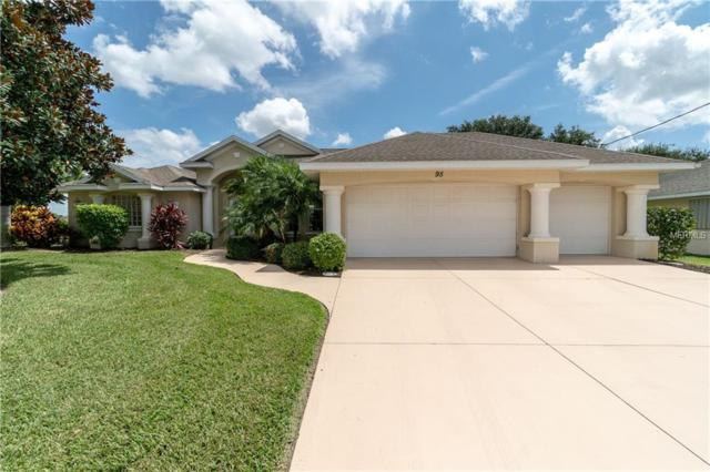 95 Tournament Road, Rotonda West, FL 33947 (MLS #D6101784) :: G World Properties