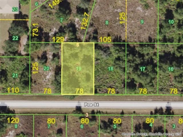 29208 Poe (Lot 19) Street, Punta Gorda, FL 33982 (MLS #D6101802) :: G World Properties