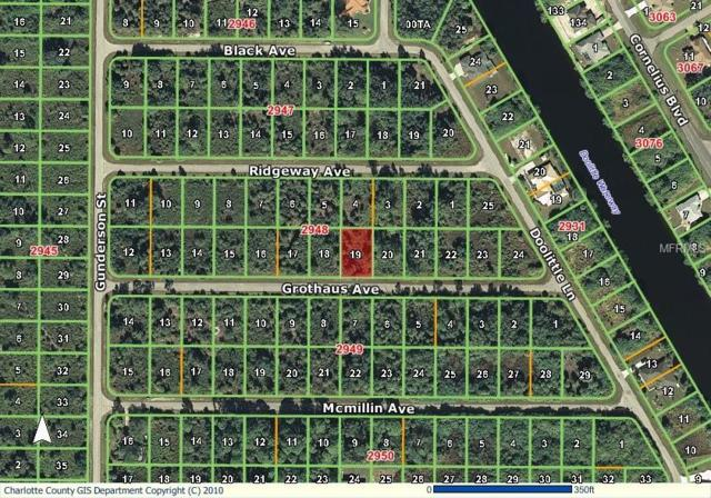 14480 Grothaus Avenue, Port Charlotte, FL 33953 (MLS #D6102014) :: Medway Realty
