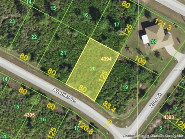 13570 Abutilon (Lot 20) Lane, Port Charlotte, FL 33981 (MLS #D6102110) :: The Lockhart Team