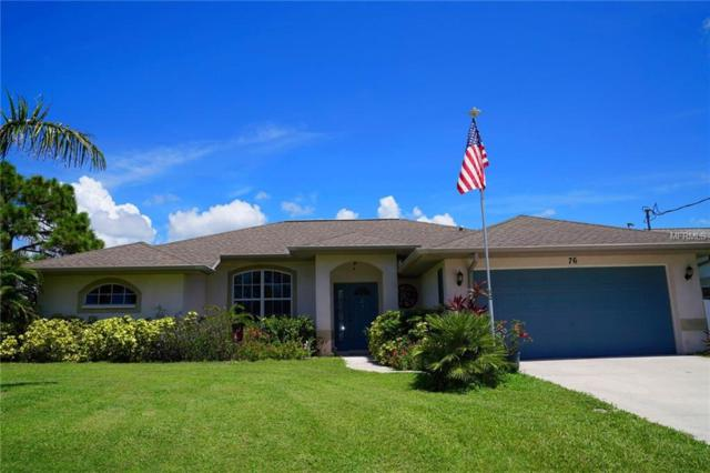 76 Mariner Lane, Rotonda West, FL 33947 (MLS #D6102114) :: The Duncan Duo Team