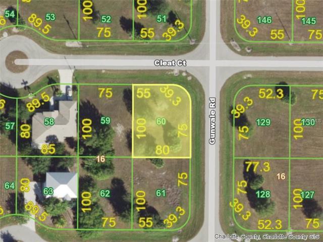 9 Cleat (Lot 60) Court, Placida, FL 33946 (MLS #D6102242) :: G World Properties