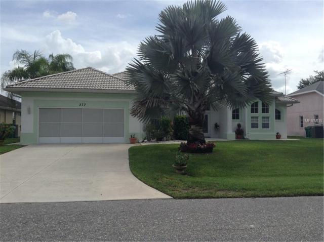 377 Adalia Terrace, Port Charlotte, FL 33953 (MLS #D6102324) :: G World Properties