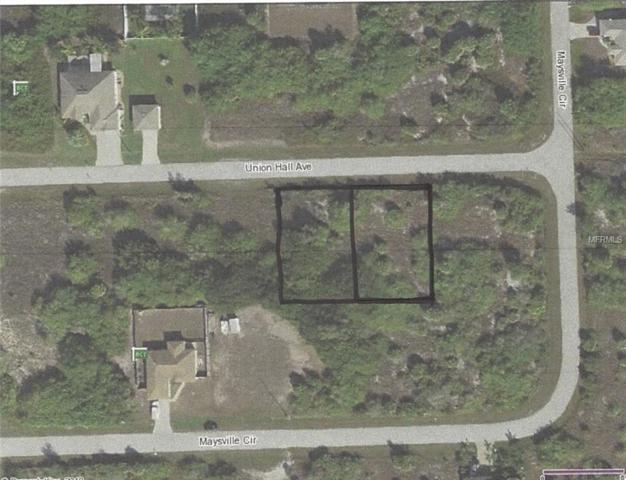 14199 Union Hall Avenue, Port Charlotte, FL 33981 (MLS #D6102426) :: The BRC Group, LLC