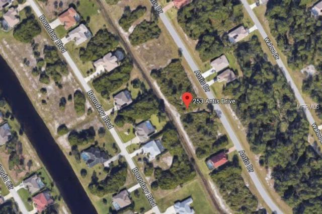 253 Antis Drive, Rotonda West, FL 33947 (MLS #D6102470) :: RE/MAX Realtec Group