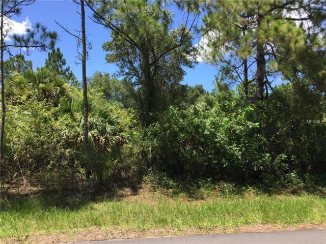 Lot 40 Johannesberg Road, North Port, FL 34288 (MLS #D6102504) :: The Price Group
