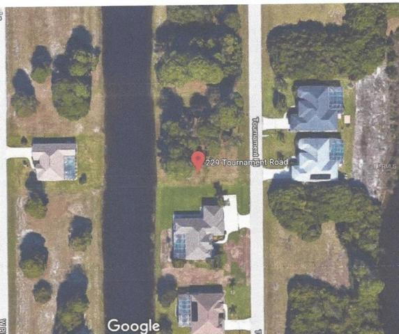 229 Tournament Road, Rotonda West, FL 33947 (MLS #D6102768) :: The Price Group