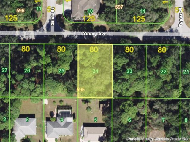 17327 Young (Lot 24) Avenue, Port Charlotte, FL 33948 (MLS #D6102930) :: Medway Realty
