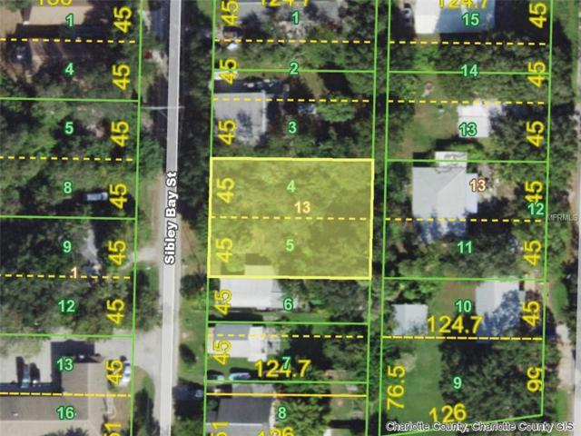 4374 Sibley Bay (Lots 4 & 5) Street, Port Charlotte, FL 33980 (MLS #D6103009) :: Florida Real Estate Sellers at Keller Williams Realty
