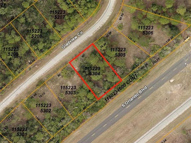Gladview (Lot 4) Circle, North Port, FL 34288 (MLS #D6103227) :: Cartwright Realty