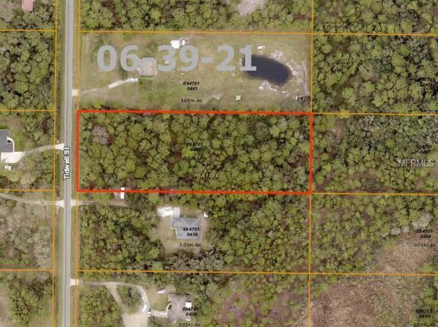 Tidwell Street, North Port, FL 34291 (MLS #D6103281) :: Baird Realty Group