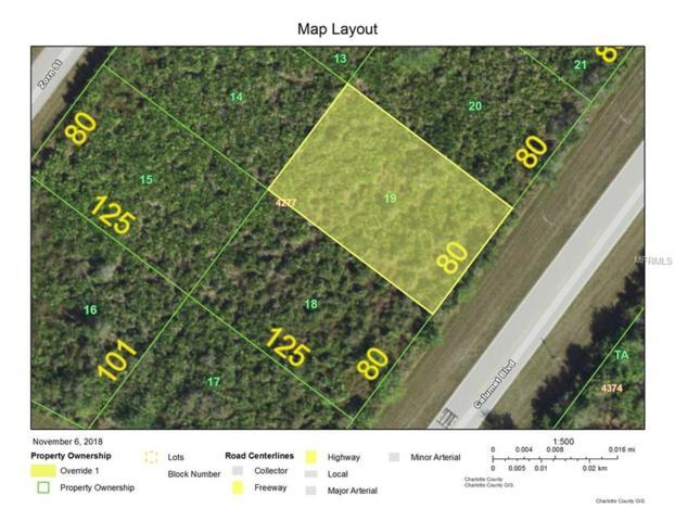 9737 Calumet Boulevard, Port Charlotte, FL 33981 (MLS #D6103323) :: Medway Realty