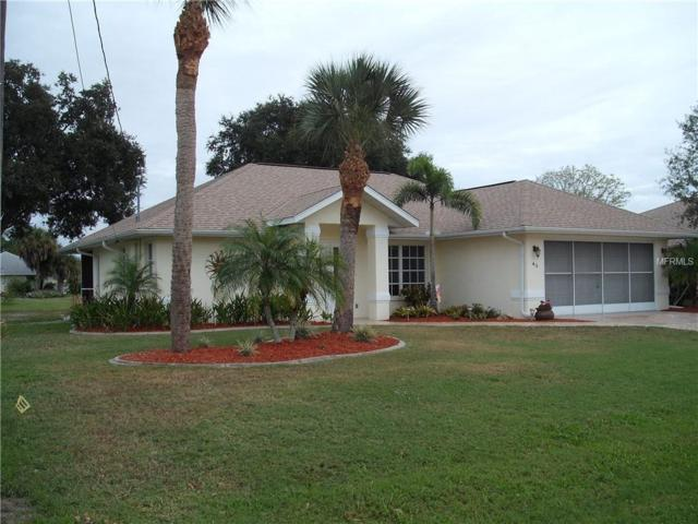 43 Sportsman Lane, Rotonda West, FL 33947 (MLS #D6103725) :: Mark and Joni Coulter | Better Homes and Gardens