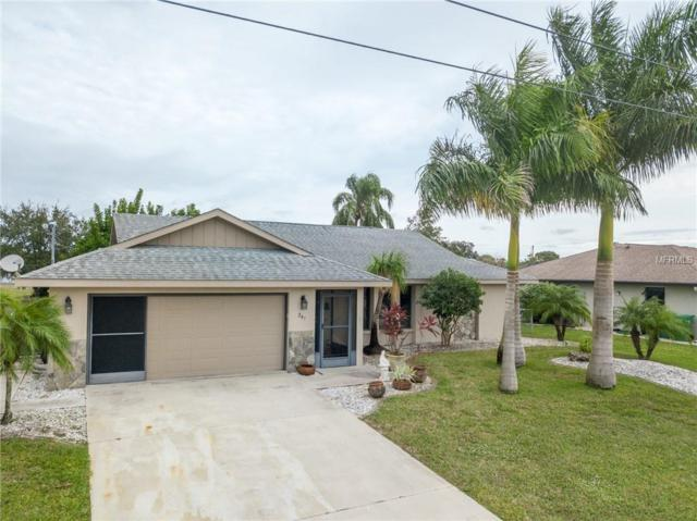 241 Mark Twain Lane SW, Rotonda West, FL 33947 (MLS #D6103736) :: Homepride Realty Services