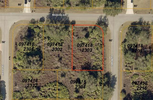 Lot 3 Bessemer Avenue, North Port, FL 34287 (MLS #D6103838) :: Revolution Real Estate