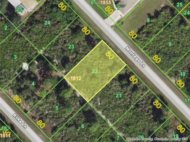 5071 Montego (Lot 22) Lane, Port Charlotte, FL 33981 (MLS #D6103972) :: Mark and Joni Coulter | Better Homes and Gardens