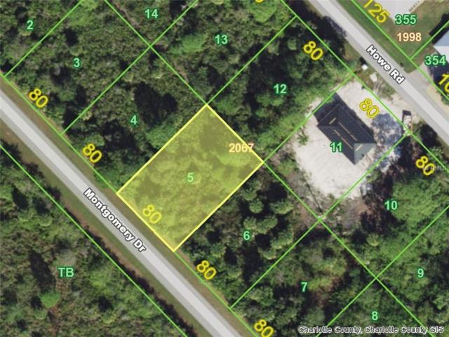 2870 Montgomery (Lot 5) Drive, Port Charlotte, FL 33981 (MLS #D6103973) :: Mark and Joni Coulter   Better Homes and Gardens
