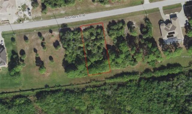 1171 Boundary Boulevard, Rotonda West, FL 33947 (MLS #D6104017) :: The Duncan Duo Team