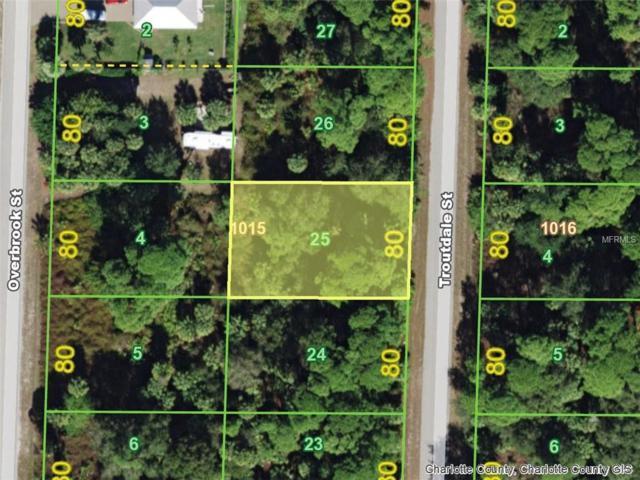 427 Troutdale (Lot 25) Street, Port Charlotte, FL 33954 (MLS #D6104175) :: Homepride Realty Services
