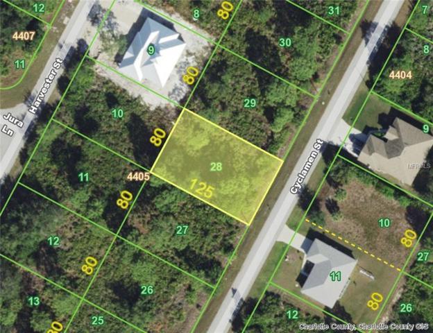 9267 Cyclamen (Lot 28) Street, Port Charlotte, FL 33981 (MLS #D6104431) :: Homepride Realty Services