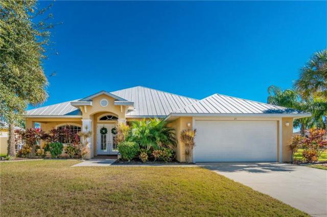 21 Medalist Terrace, Rotonda West, FL 33947 (MLS #D6104502) :: RE/MAX Realtec Group