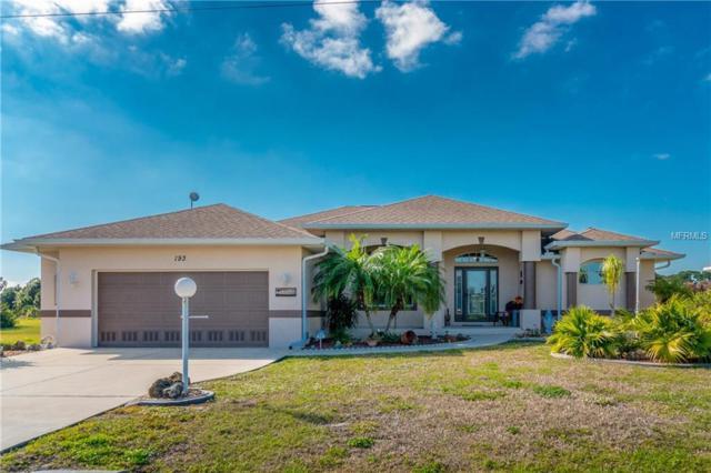 193 W Pine Valley Lane, Rotonda West, FL 33947 (MLS #D6104550) :: RE/MAX Realtec Group