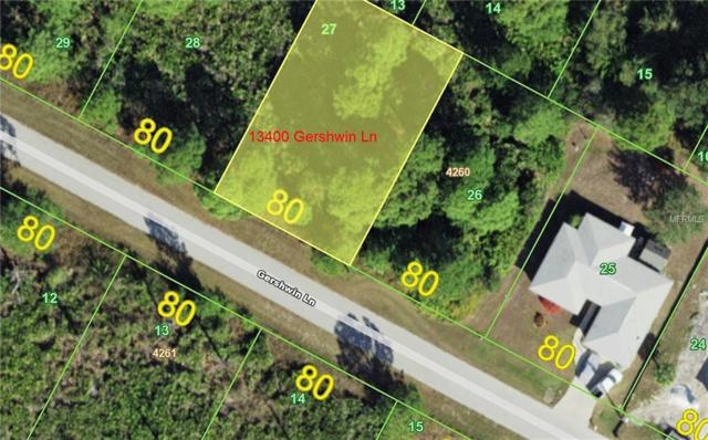 13400 Gershwin Lane, Port Charlotte, FL 33981 (MLS #D6104569) :: RE/MAX Realtec Group