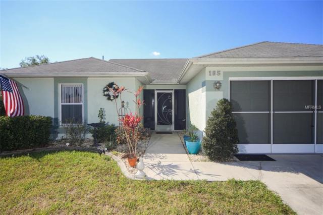185 Cougar Way, Rotonda West, FL 33947 (MLS #D6104652) :: RE/MAX Realtec Group
