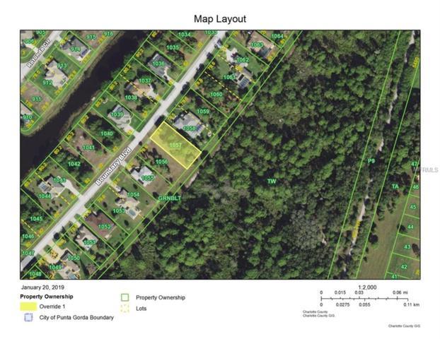 1021 Boundary Boulevard, Rotonda West, FL 33947 (MLS #D6104726) :: Medway Realty