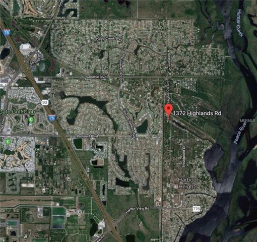 1372 Highlands Road, Punta Gorda, FL 33983 (MLS #D6105164) :: RE/MAX Realtec Group