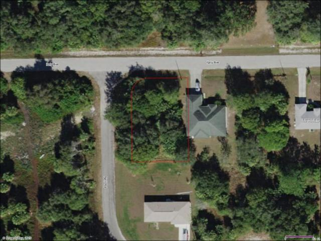 Italy Avenue, North Port, FL 34288 (MLS #D6105193) :: Medway Realty