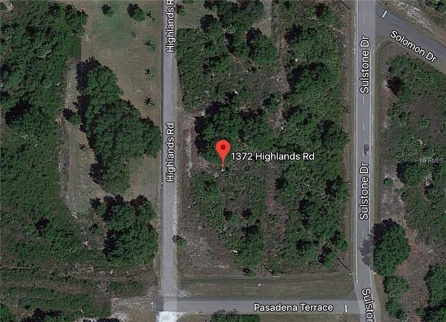 1376 Highlands Road, Punta Gorda, FL 33983 (MLS #D6105255) :: RE/MAX Realtec Group