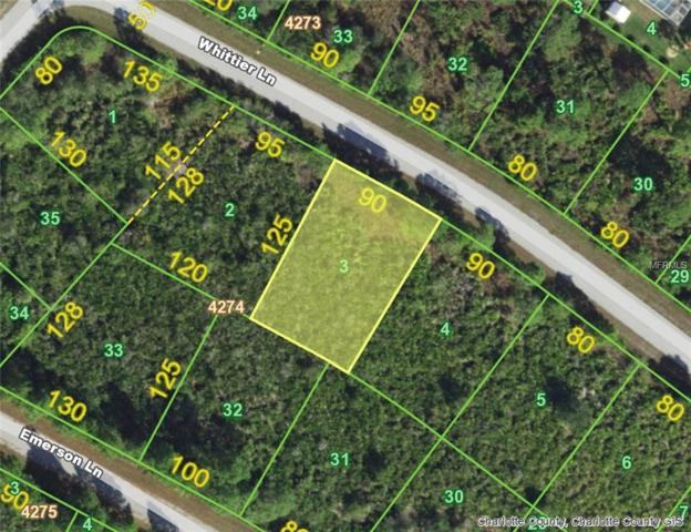 14075 Whittier (Lot 3) Lane, Port Charlotte, FL 33981 (MLS #D6105262) :: Zarghami Group