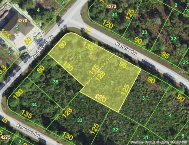 14055 Whittier (Lots 1 & 2) Lane, Port Charlotte, FL 33981 (MLS #D6105263) :: Zarghami Group