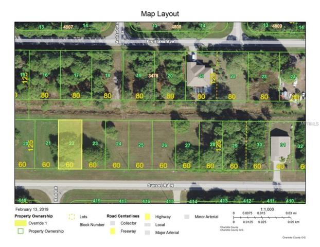 418 Sunset Road N, Rotonda West, FL 33947 (MLS #D6105322) :: Zarghami Group