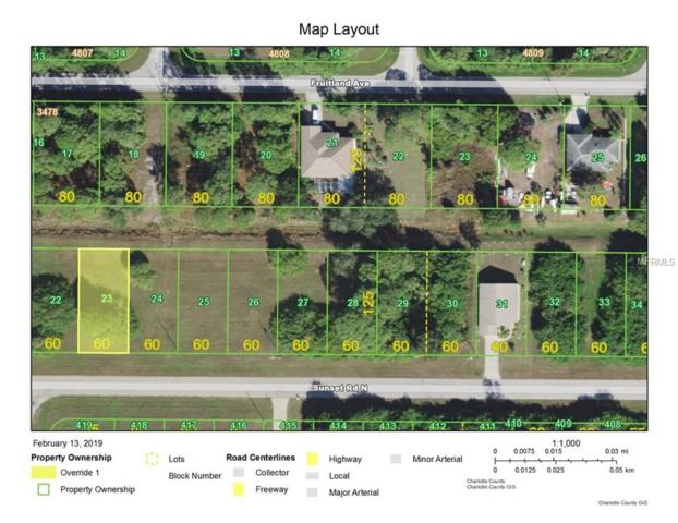 420 Sunset Road N, Rotonda West, FL 33947 (MLS #D6105328) :: Zarghami Group