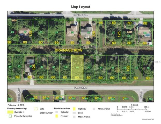 454 Sunset Road N, Rotonda West, FL 33947 (MLS #D6105330) :: Zarghami Group