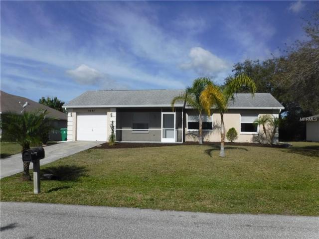 5447 Graves Terrace, Port Charlotte, FL 33981 (MLS #D6105356) :: GO Realty