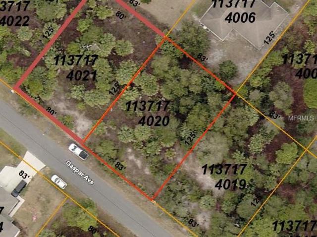 Gaspar Avenue, North Port, FL 34288 (MLS #D6105377) :: Griffin Group