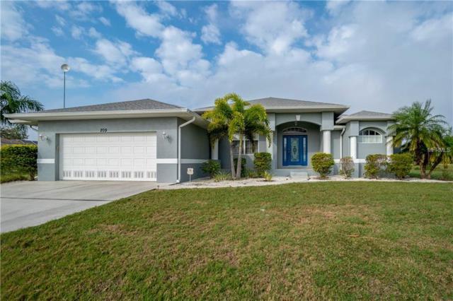 209 W Pine Valley Lane, Rotonda West, FL 33947 (MLS #D6105403) :: RE/MAX Realtec Group