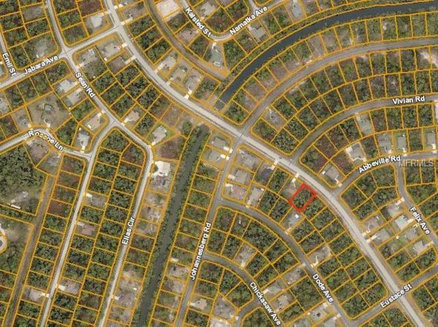 Jeannin Drive, North Port, FL 34288 (MLS #D6105699) :: Medway Realty
